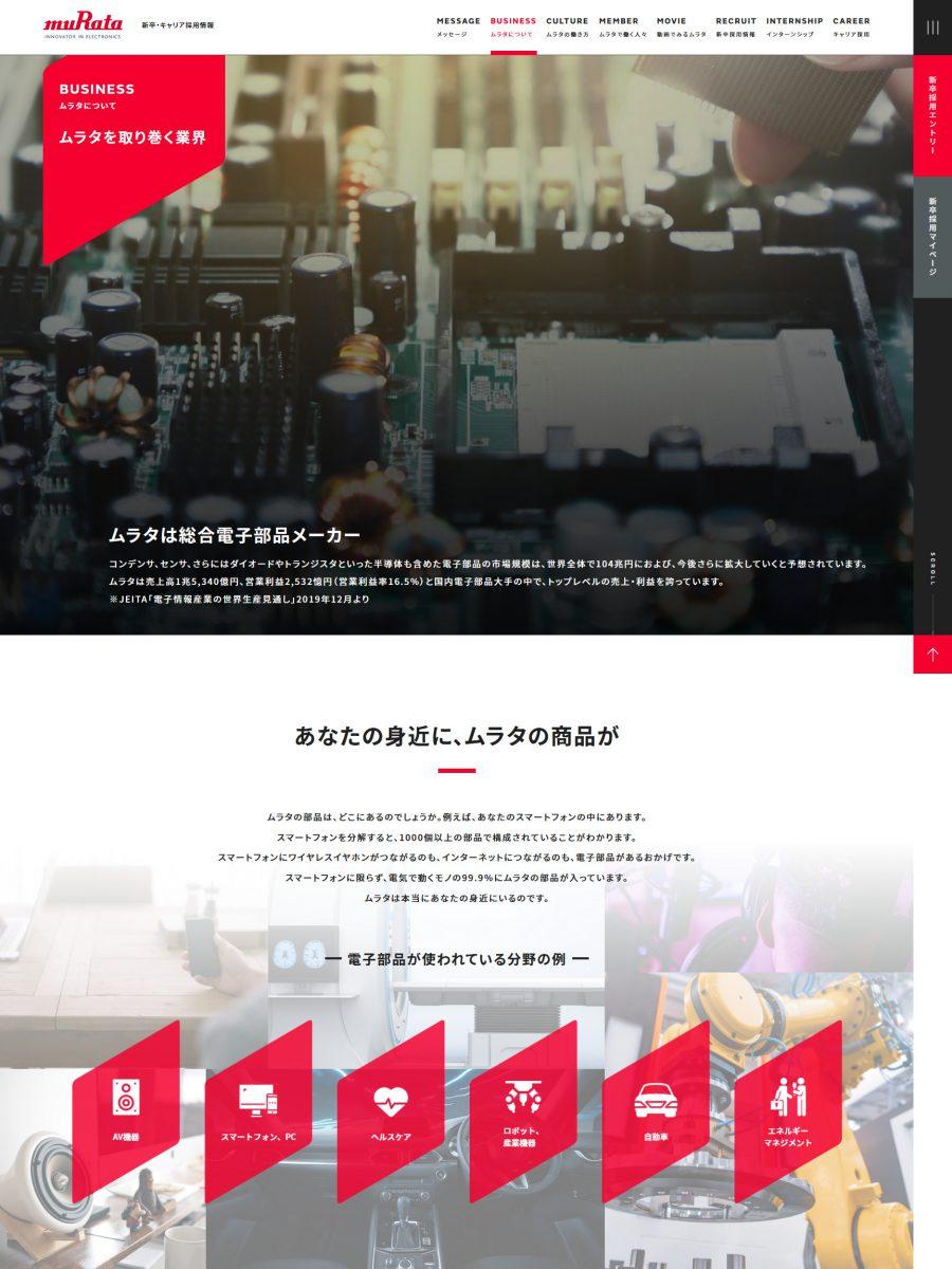 村田製作所 新卒・キャリア採用情報