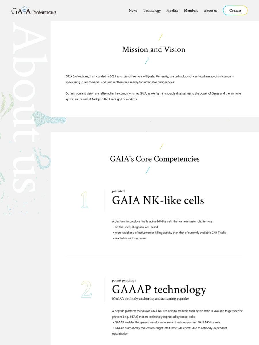 GAIA BioMedicine